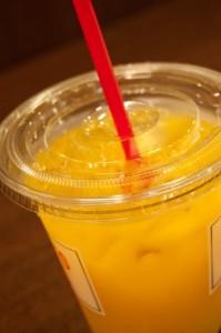 オレンジジュースの画像