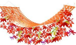 紅葉のハンガー