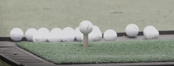 ゴルフで試打