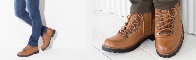 街コンの靴