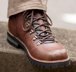 オシャレな茶色の靴