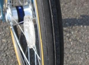 MarkRosa miniのタイヤ