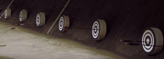 弓道と矢所