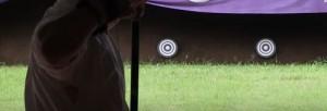 弓道の矢所