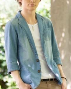 夏用のデニムジャケット