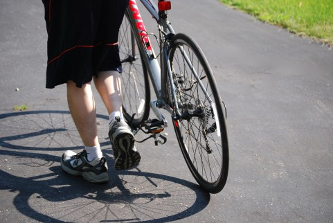 自転車で手がかゆい