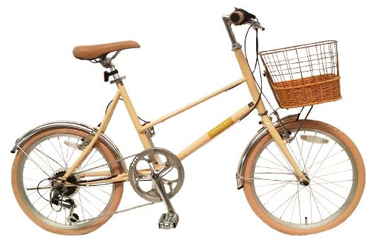ミニベロ自転車mimosa