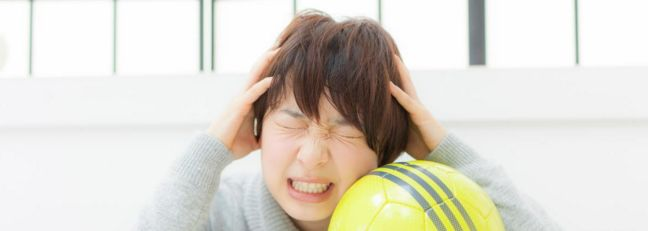 ゴルフ後の頭痛