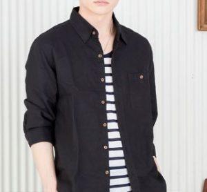 若ハゲに似合う服装は黒シャツ