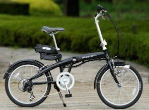 室内保管できる電動自転車