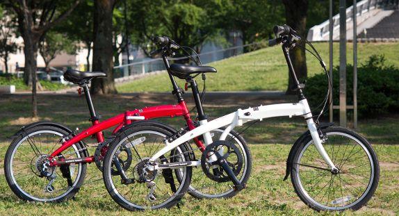軽くて安い折りたたみ自転車