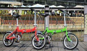 軽くて小さい折りたたみ自転車FIAT AL-FDB166