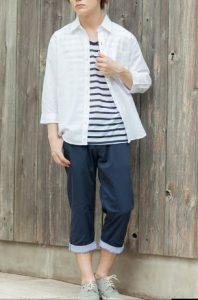 背が低い男性向け夏ファッション