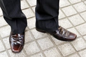 爪水虫と革靴