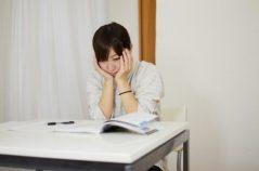 勉強で手が震える