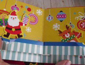 ダイソーのクリスマスカード