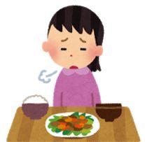 お菓子は食べられるのにご飯は食べられない