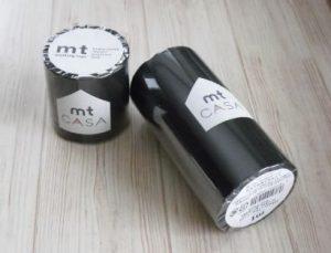 mtCASAマスキングテープ(黒板)