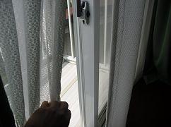 ガラス越しの日光消毒