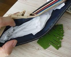 財布の臭いを除去