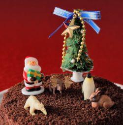 イチゴ嫌いの人向けクリスマスケーキ