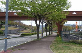 イオン猪名川から多田銀銅山へのアクセス
