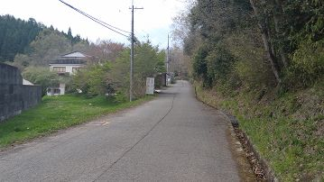 多田銀銅山に徒歩で行く