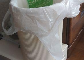 ゴミ箱の下がコバエの発生源