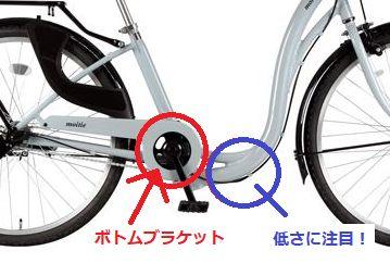 自転車のボトムブラケット