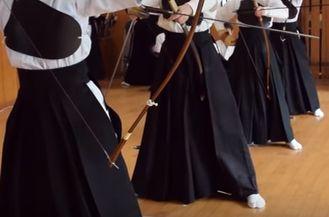 期末試験と弓道