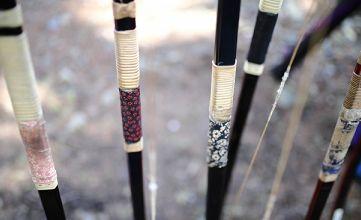 テスト期間と弓道
