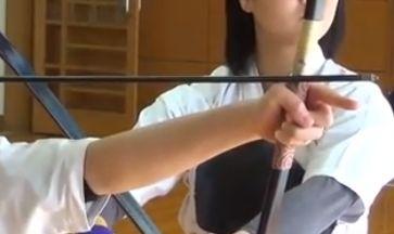 中学生の弓道