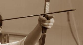 弓道の弓力を下げる
