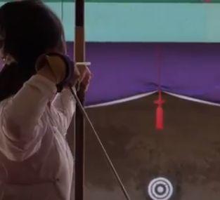 弓道の見取り稽古