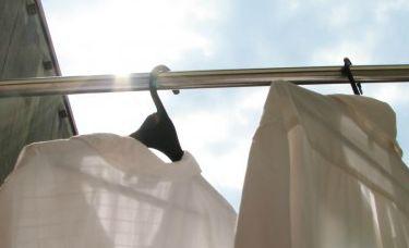 洗濯物に蚊取り線香の臭いがつく
