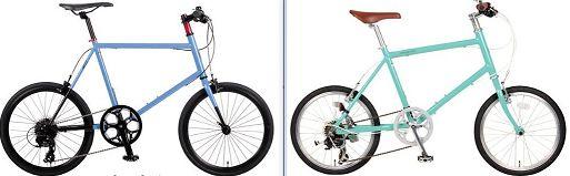 ウィークエンドバイクス-Gとレユニオンニール-Hの違いを比較