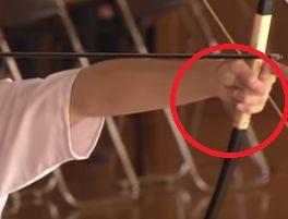 弓道の恐怖心と手の内