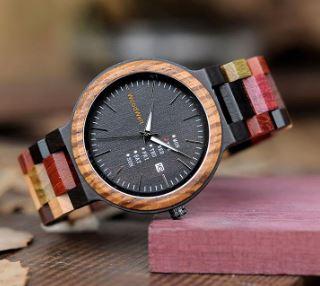 木製腕時計で金属アレルギー対策