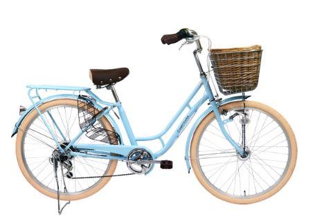 カゴ付きのオシャレ自転車