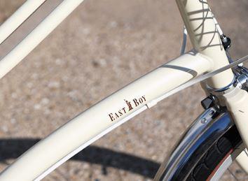 オシャレな自転車で前カゴ付き