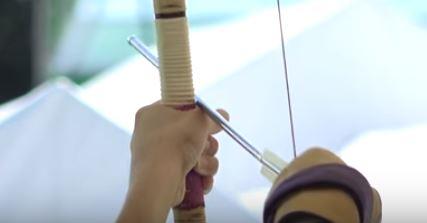 弓道で縦に伸びる方法