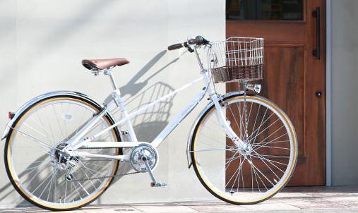 おしゃれな自転車でカゴ付きのおすすめ