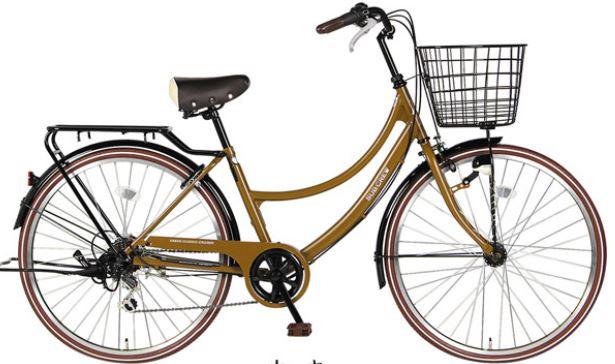 レトロでおしゃれ自転車