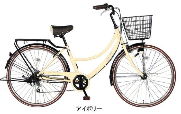 おしゃれでレトロな自転車