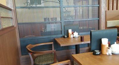 倉式珈琲店イオンタウン川西の座席の様子