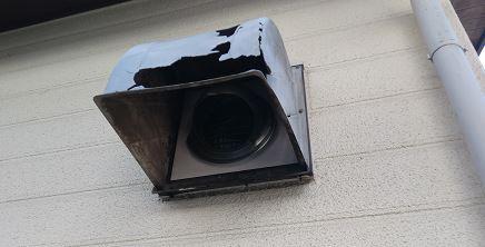 換気扇の屋外フード交換工事の相場