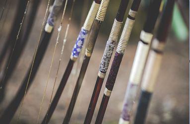 弓道の中仕掛けは太い・細いどっちがいいか