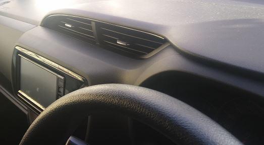 固形石鹸を車の芳香剤代わりに置くと溶けるのか