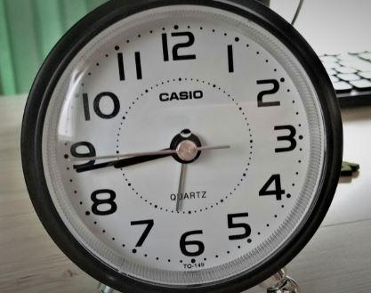 カシオの目覚まし時計TQ-149-5JFの口コミ